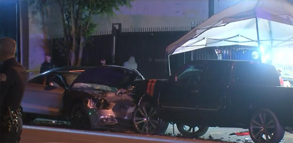 Accidente en Boyle Heights