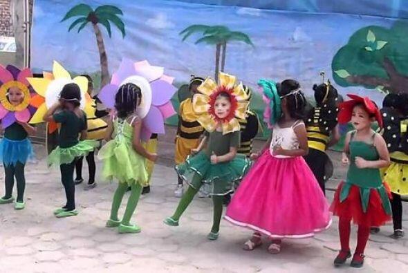 Cual niños disfrazados en el kinder. Todo sobre el Mundial de Brasil 2014.