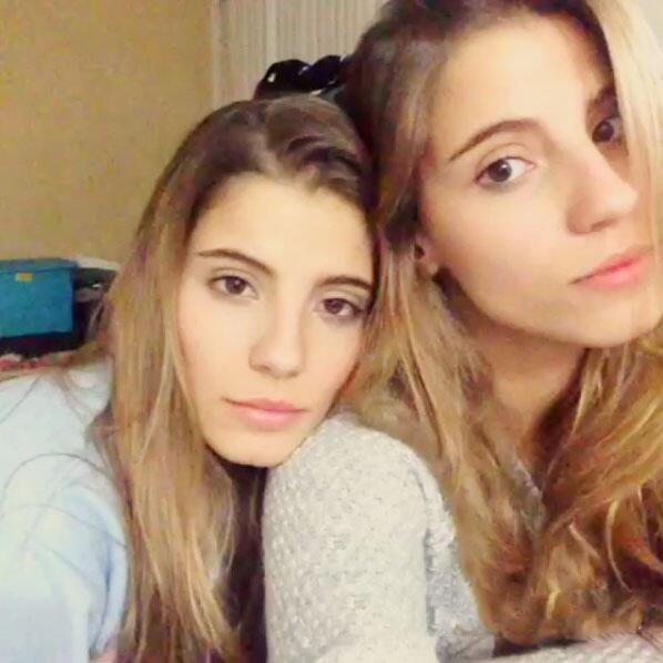 Aranza y Anna Carreiro Gemelas