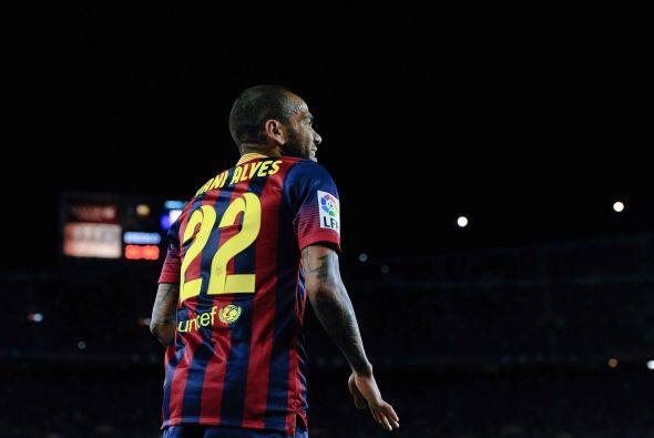 El ejemplo de Alves sirve para otros futbolistas de este equipo que, com...
