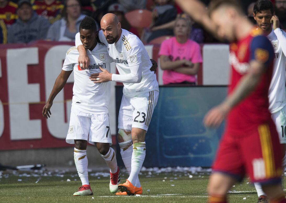En fotos: LAFC gana de nuevo de la mano de Carlos Vela y Diego Rossi lat...