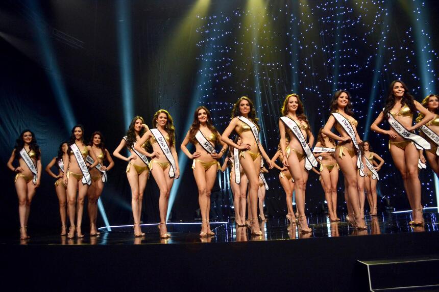 Las concursantes ya se están preparando para el certamen de belleza.