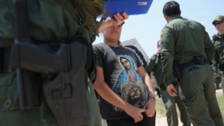 Agentes de la Patrulla Fronteriza de Estados Unidos.