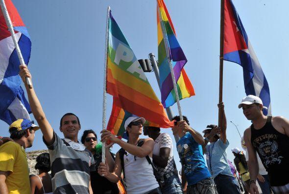En Cuba los colores del arcoiris, por los que se distingue este gremio,...