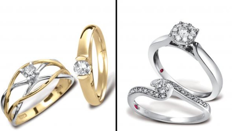 Oro Vs. platino y diamantes Vs. otras piedras preciosas... Elige el que...