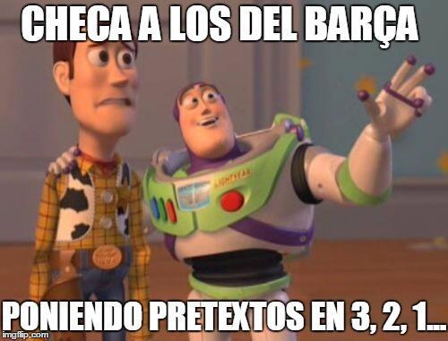 Fanáticos del fútbol se mofaron de la derrota del Barça ante el Atlético.