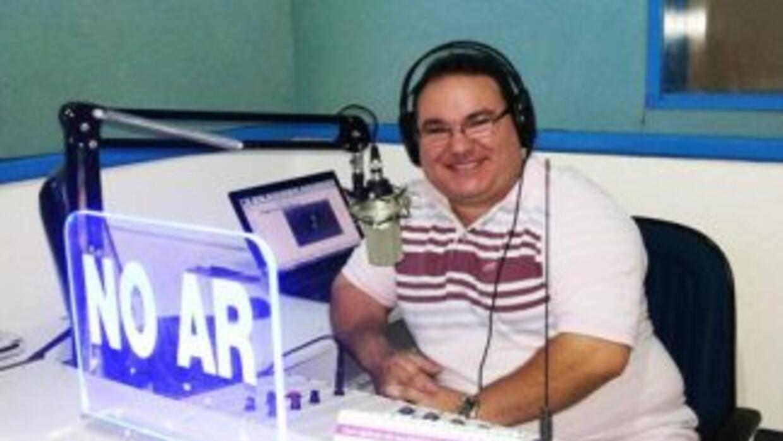El locutor radiofónico Gleydson Carvalho. (Imagen tomada de la cuenta de...