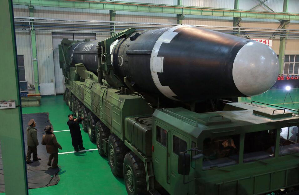 El gobierno norcoreano facilitó una serie de fotografías d...