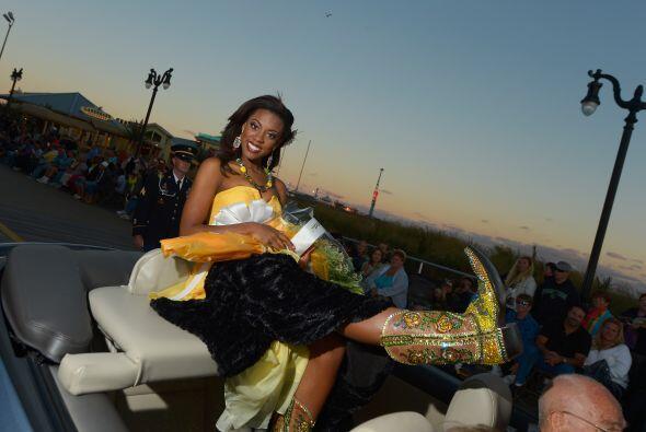 Miss Texas Ivana Hall