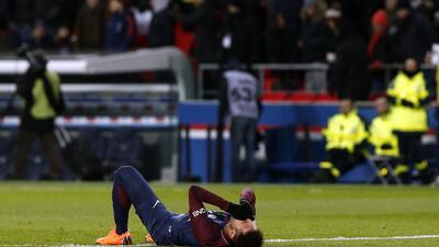 OFICIAL: Neymar tiene una lesión más grave de lo que se suponía, con un esguince de tobillo y una fisura en un dedo