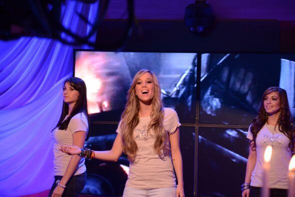 La Barbie en su momento de fama. El mejor talento de Andrea es el canto.