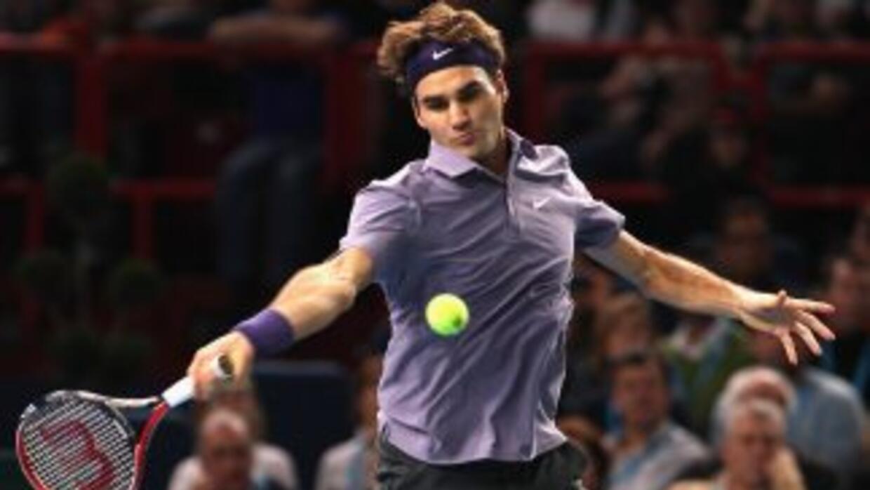 Federer es el primer clasificado en el Masters 1000 de París, ya que Raf...