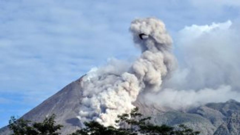 En los últimos tres días los habitantes de las zonas cercanas al volcán...