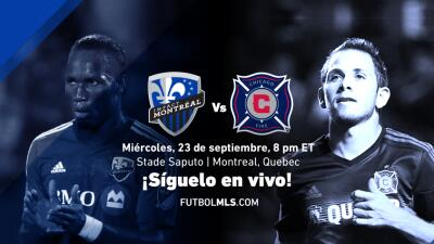 Montreal Impact vs Chicago Fire | Síguelo en vivo