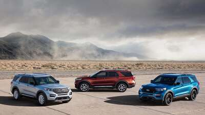 Detroit 2019: Ford expande el alcance de la Explorer 2020 con la llegada de un modelo híbrido y otro de alto rendimiento