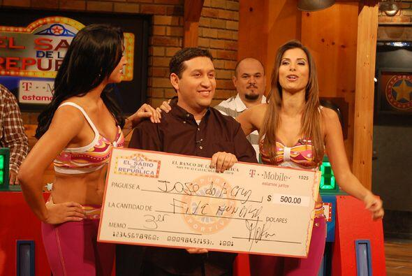 Sin embargo, José se fue eliminado en la primera ronda.