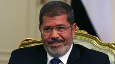 El presidente egipcio,Mohammed Mursi.