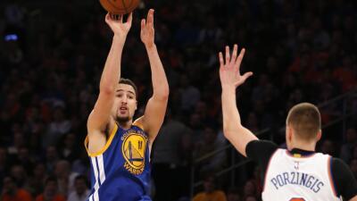 Curry atinó sólo cinco de 17 disparos de campo.