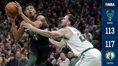 Se acabaron los invictos en la NBA: los Bucks pierden el primero ante los Celtics