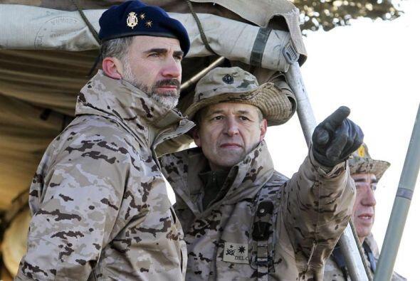 En la actividad de este viernes ha intervenido el Príncipe Felipe, acomp...