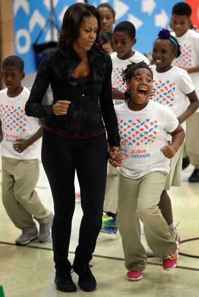 En estos ejemplos de estilo no podíamos dejar pasar a Michelle Obama, qu...