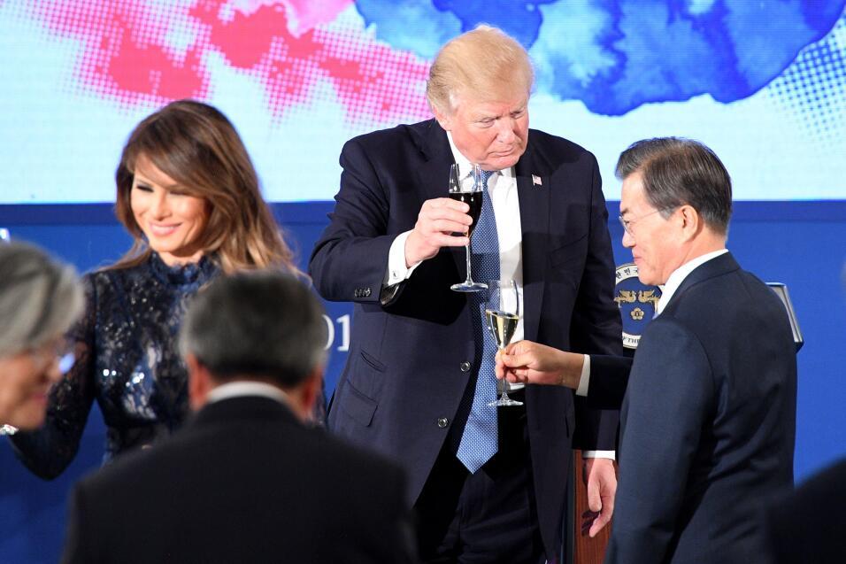 Donald Trump Asia