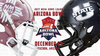 New Mexico State y Utah State Aggies se enfrentarán en el tercer año del Arizona Bowl NOVA Home Loans