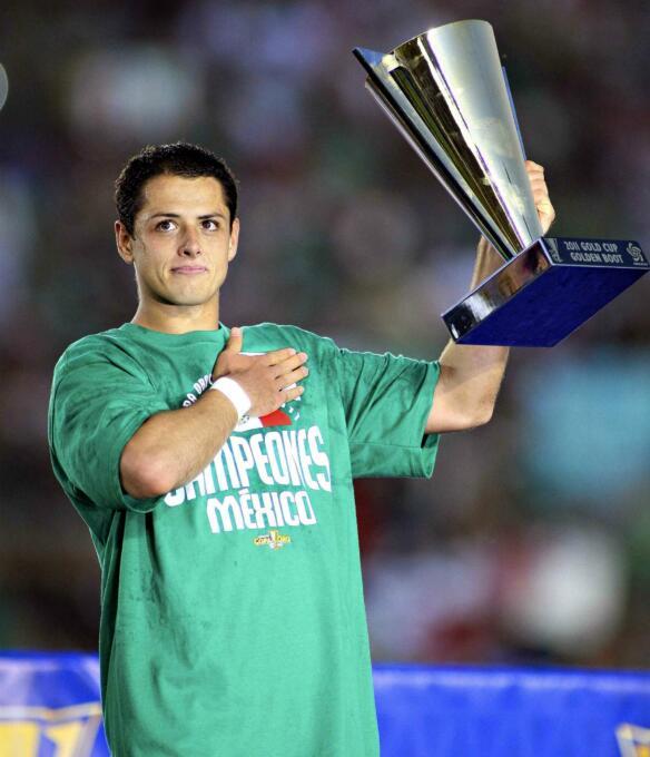 Mexicanos dominan en lista histórica de MVP's de Copa Oro -Javier Hernán...