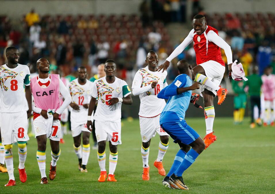 La selección de Senegal se clasificó a Rusia 2018 de maner...