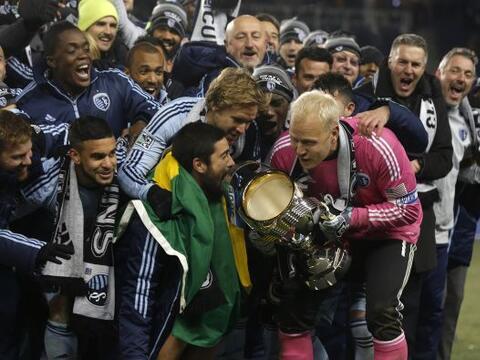 Sporting Kansas City se coronó campeón de la MLS por segun...