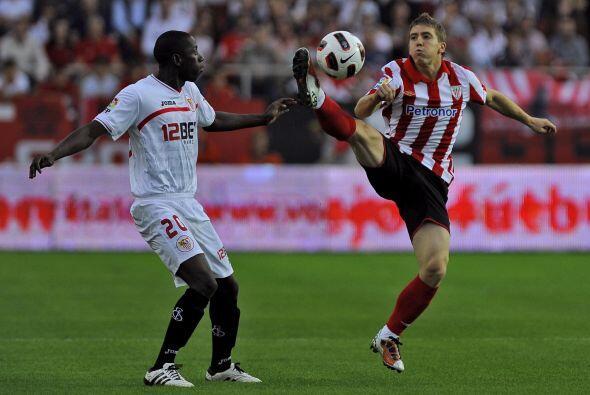 Pero en su vuelta al Athletic se le arropó para que no se viniera abajo.