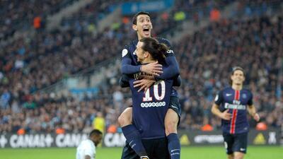El PSG derrotó 2-1 al Marsella