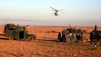 En fotos: Irak lanza una gran operación militar por aire y tierra contra ISIS para recuperar Mosul