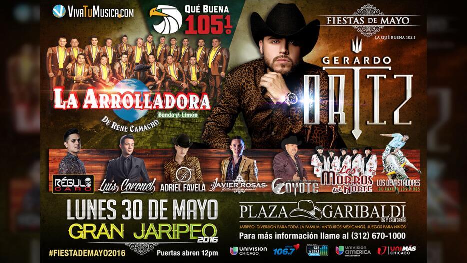La Que Buena 105.1FM presenta: