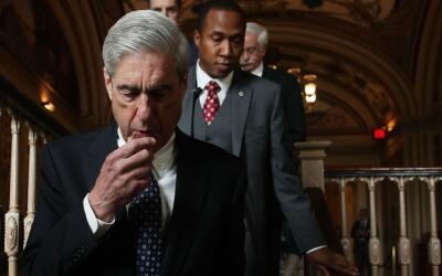 Robert Mueller,el fiscal especial que lleva la investigación sobr...