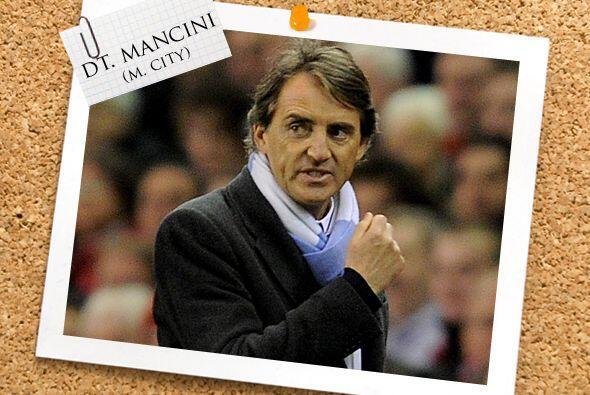 Estos talentosos jugadores son dirigidos por el italiano Roberto Mancini...