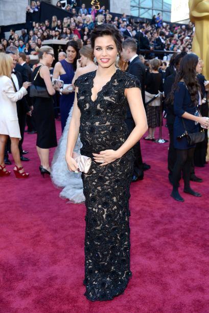 Las embarazadas también saben lucir a la moda y eso lo demostró Jenna De...