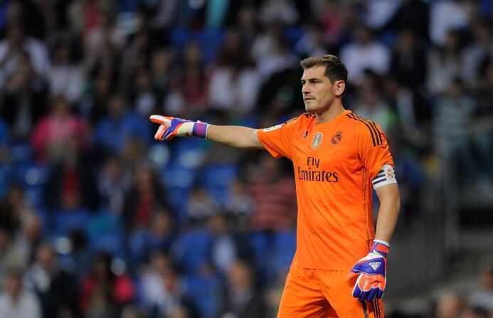 Portero: Iker Casillas ha sido elegido en este XI de todos los tiempos e...