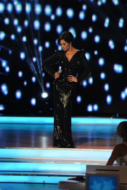 Esta vez, la talentosa Bianca Marroquín acompañó, c...