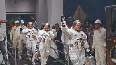 """48 años de la llegada a la luna: """"Un salto gigante para la humanidad"""""""