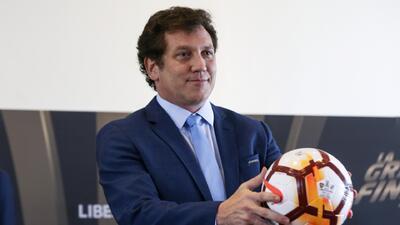 Presidente de Conmebol tendrá reunión clave para regreso de Mexico a Libertadores
