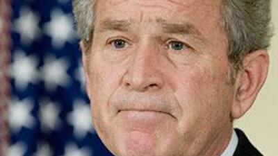 La administración del ex presidente  de EU, George W. Bush está en el ce...