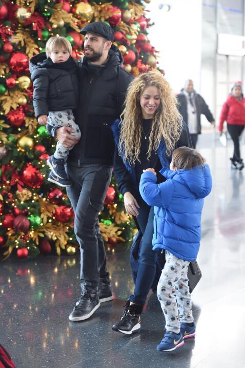 Vacaciones de Shakira en Nueva York