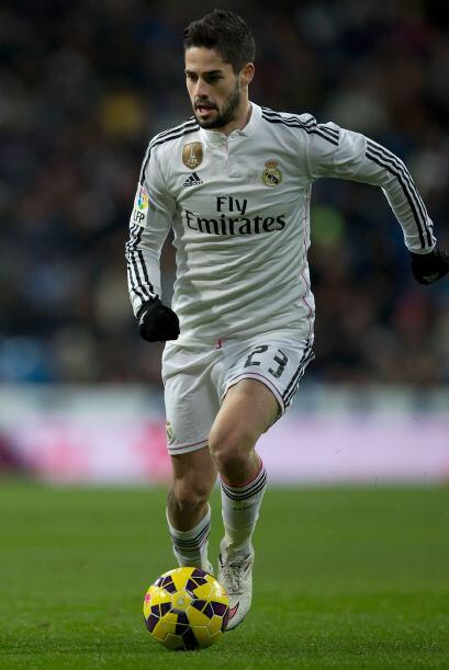 23 ISCO.- Este creativo español es un extraordinario futbolista que se h...