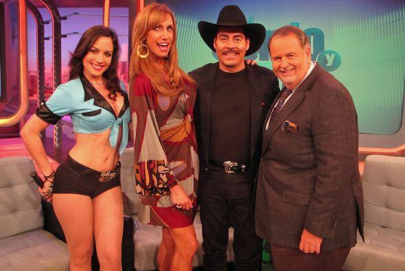 Ezequiel Peña, Alejandra Espinoza, Anibal Marrero y Lorena Rojas dieron...