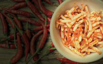 Kimchi, un encurtido de uso común en la cocina coreana