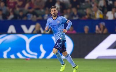 David Villa aseguró con su gol la victoria de NYCFC frente a LA G...
