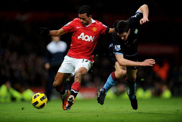 Manchester tenía ciertos destellos de parte de sus jugadores.