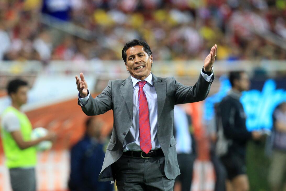 Miguel Herrera, ganador en el Clásico Nacional con América 20130331-7605...
