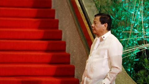 Duterte espera a que otros líderes del sudeste asiático ll...